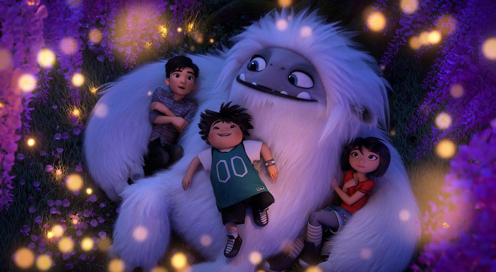 Visuel du film d'animation Abominable de Jill Culton
